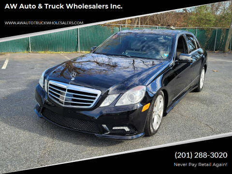 2010 Mercedes-Benz E-Class for sale at AW Auto & Truck Wholesalers  Inc. in Hasbrouck Heights NJ
