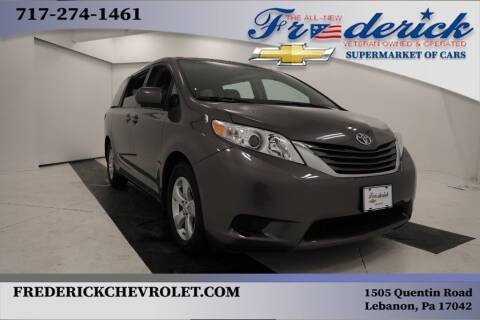 2017 Toyota Sienna for sale at Lancaster Pre-Owned in Lancaster PA
