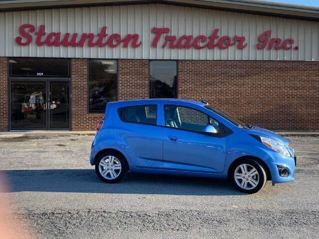 2014 Chevrolet Spark for sale at STAUNTON TRACTOR INC in Staunton VA