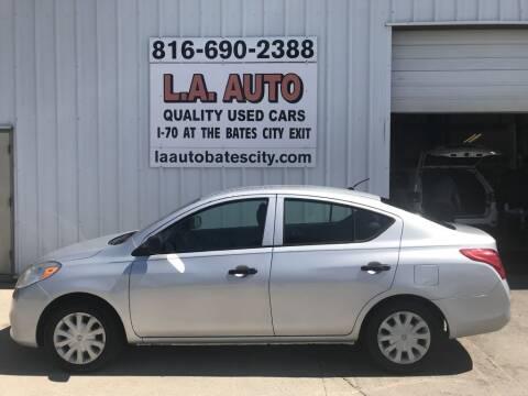 2014 Nissan Versa for sale at LA AUTO in Bates City MO