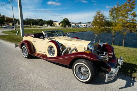 1980 Excalibur Phaeton for sale at American Classic Car Sales in Sarasota FL