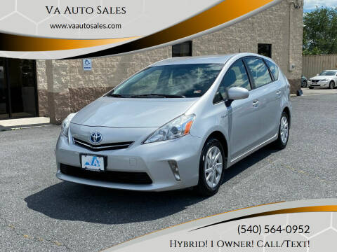 2012 Toyota Prius v for sale at Va Auto Sales in Harrisonburg VA