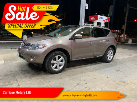 2010 Nissan Murano for sale at Carriage Motors LTD in Ingleside IL