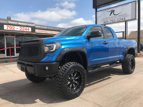 2016 Toyota Tundra for sale at NORRIS AUTO SALES in Oklahoma City OK