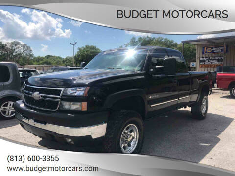 2007 Chevrolet Silverado 2500HD Classic for sale at Budget Motorcars in Tampa FL