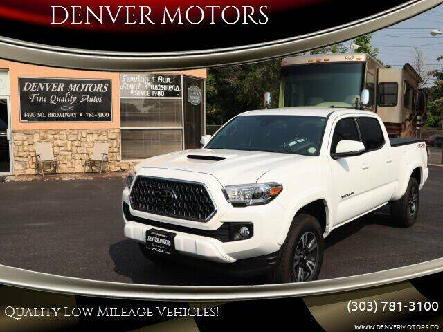 2018 Toyota Tacoma for sale at DENVER MOTORS in Englewood CO
