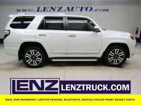 2017 Toyota 4Runner for sale at LENZ TRUCK CENTER in Fond Du Lac WI