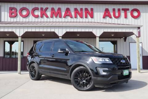 2016 Ford Explorer for sale at Bockmann Auto Sales in St. Paul NE