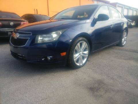2013 Chevrolet Cruze for sale at JacksonvilleMotorMall.com in Jacksonville FL