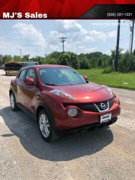 2011 Nissan JUKE for sale at MJ'S Sales in O'Fallon MO
