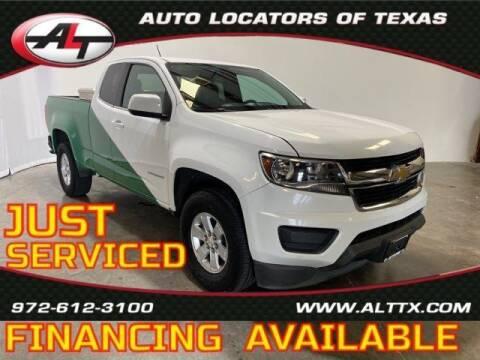 2016 Chevrolet Colorado for sale at AUTO LOCATORS OF TEXAS in Plano TX