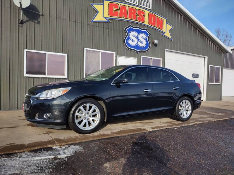 2015 Chevrolet Malibu for sale at CARS ON SS in Rice Lake WI