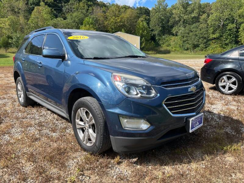 2016 Chevrolet Equinox for sale at Court House Cars, LLC in Chillicothe OH