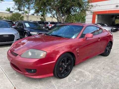 2006 Hyundai Tiburon for sale at Florida Fine Cars - West Palm Beach in West Palm Beach FL