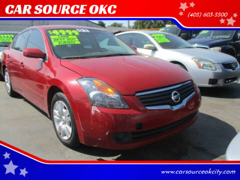 2009 Nissan Altima for sale at CAR SOURCE OKC in Oklahoma City OK