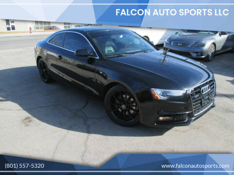 2016 Audi A5 for sale at Falcon Auto Sports LLC in Murray UT