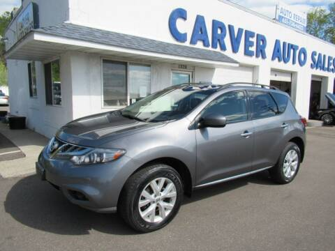 2013 Nissan Murano for sale at Carver Auto Sales in Saint Paul MN