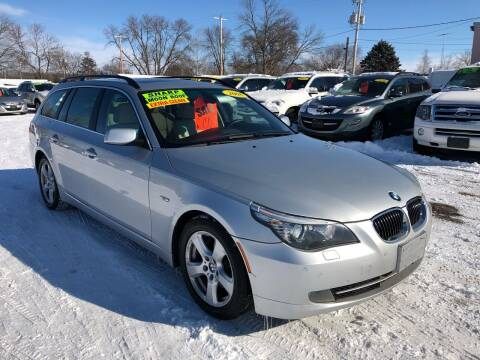 2008 BMW 5 Series for sale at River Motors in Portage WI