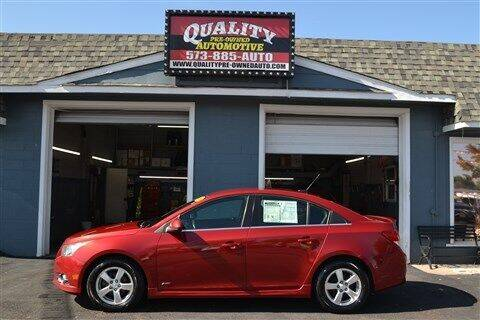 2011 Chevrolet Cruze for sale at Quality Pre-Owned Automotive in Cuba MO