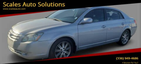 2006 Toyota Avalon for sale at Scales Auto Solutions in Madison NC