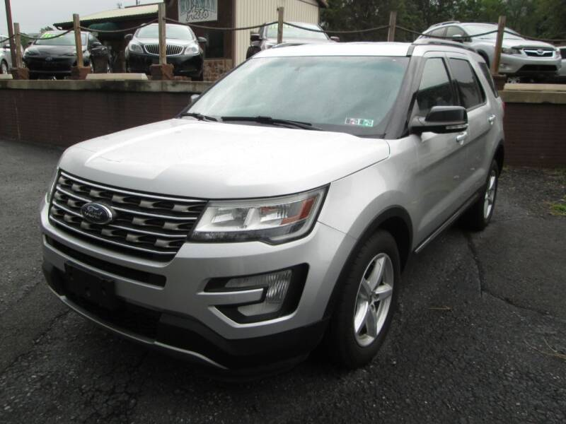 2016 Ford Explorer for sale at WORKMAN AUTO INC in Pleasant Gap PA