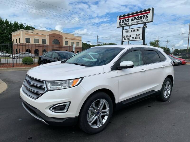 2016 Ford Edge for sale at Auto Sports in Hickory NC