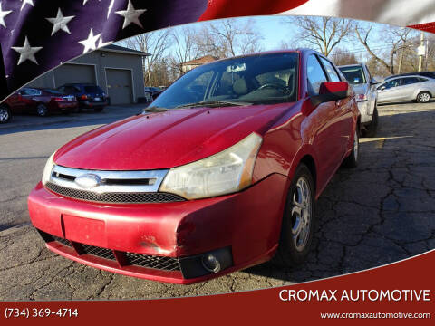 2009 Ford Focus for sale at Cromax Automotive in Ann Arbor MI