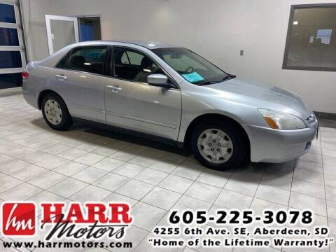 2003 Honda Accord for sale at Harr's Redfield Ford in Redfield SD
