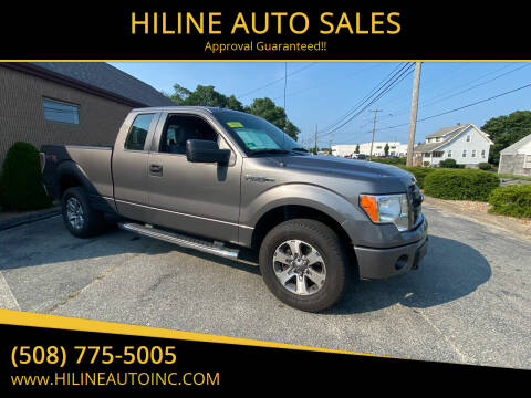 2013 Ford F-150 for sale at HILINE AUTO SALES in Hyannis MA