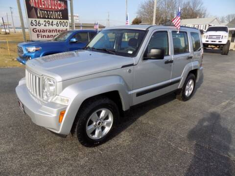 2010 Jeep Liberty for sale at MYLENBUSCH AUTO SOURCE in O` Fallon MO