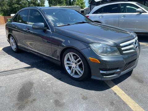 2013 Mercedes-Benz C-Class for sale at QUALITY PREOWNED AUTO in Houston TX