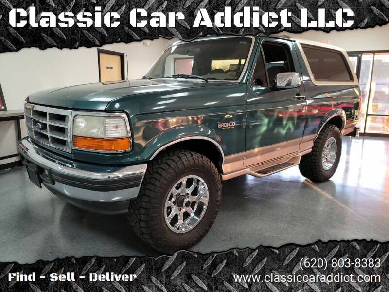 1996 Ford Bronco for sale at Classic Car Addict in Mesa AZ