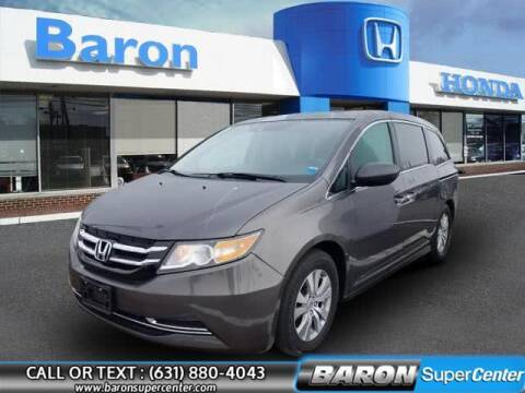 2016 Honda Odyssey for sale at Baron Super Center in Patchogue NY