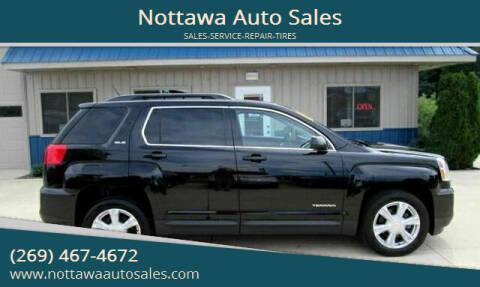 2017 GMC Terrain for sale at Nottawa Auto Sales in Nottawa MI