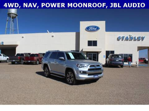 2018 Toyota 4Runner for sale at STANLEY FORD ANDREWS in Andrews TX
