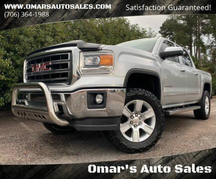 2014 GMC Sierra 1500 for sale at Omar's Auto Sales in Martinez GA
