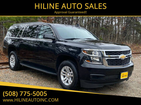 2018 Chevrolet Suburban for sale at HILINE AUTO SALES in Hyannis MA