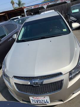 2014 Chevrolet Cruze for sale at GRAND AUTO SALES - CALL or TEXT us at 619-503-3657 in Spring Valley CA