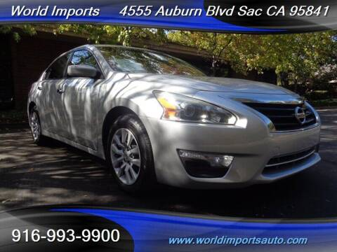 2013 Nissan Altima for sale at World Imports in Sacramento CA