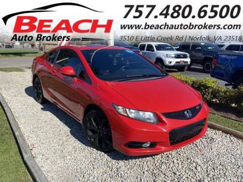 2013 Honda Civic for sale at Beach Auto Brokers in Norfolk VA