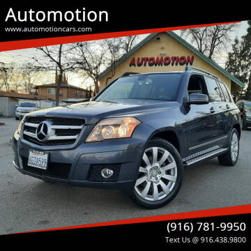 2010 Mercedes-Benz GLK for sale at Automotion in Roseville CA