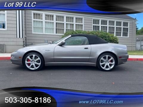 2005 Maserati Spyder for sale at LOT 99 LLC in Milwaukie OR