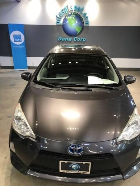 2012 Toyota Prius c for sale at PRIUS PLANET in Laguna Hills CA
