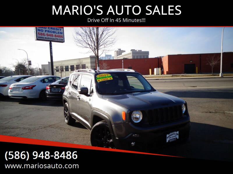 2017 Jeep Renegade for sale at MARIO'S AUTO SALES in Mount Clemens MI