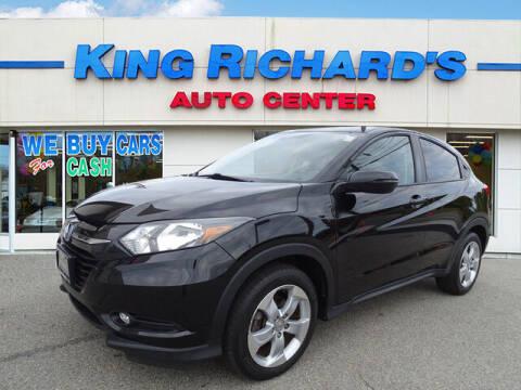 2016 Honda HR-V for sale at KING RICHARDS AUTO CENTER in East Providence RI