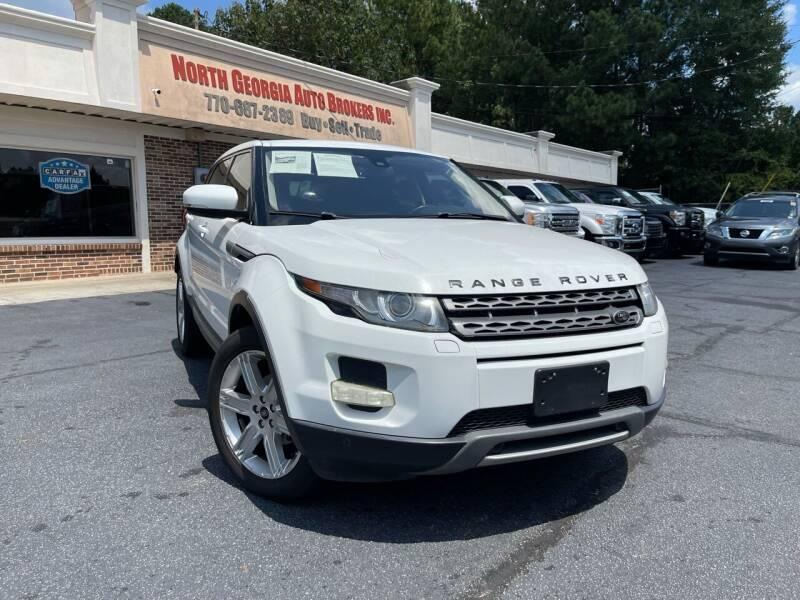 2013 Land Rover Range Rover Evoque for sale at North Georgia Auto Brokers in Snellville GA