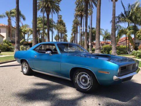 1970 Plymouth Barracuda for sale at Hines Auto Sales in Marlette MI