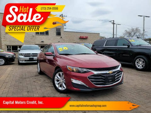 2020 Chevrolet Malibu for sale at Capital Motors Credit, Inc. in Chicago IL