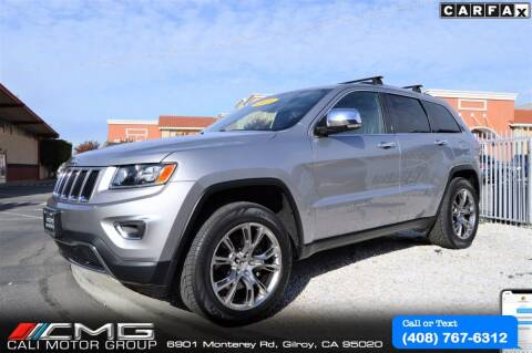 2015 Jeep Grand Cherokee for sale at Cali Motor Group in Gilroy CA