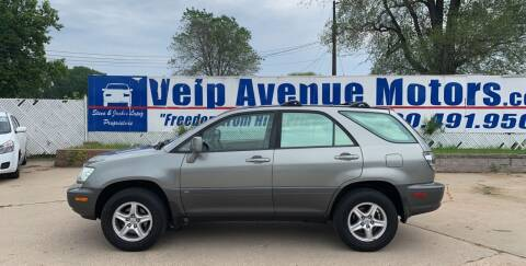 2001 Lexus RX 300 for sale at Velp Avenue Motors LLC in Green Bay WI